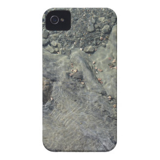 Rocky seabed through transparent sea water iPhone 4 case
