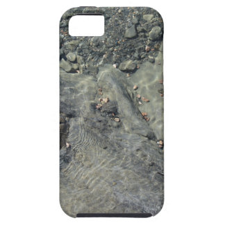 Rocky seabed through transparent sea water iPhone 5 case