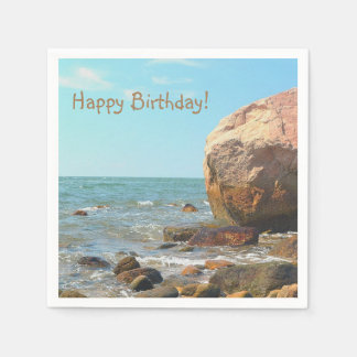 Rocky Seashore Disposable Napkins