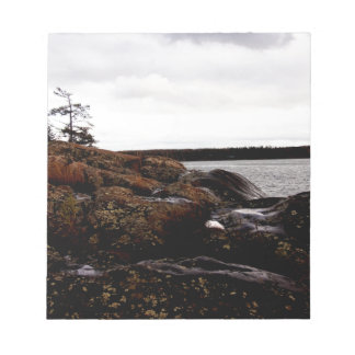 Rocky Shoreline Notepad