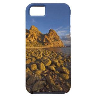 Rocky shoreline on Isla Carmen in the Gulf of iPhone 5 Case