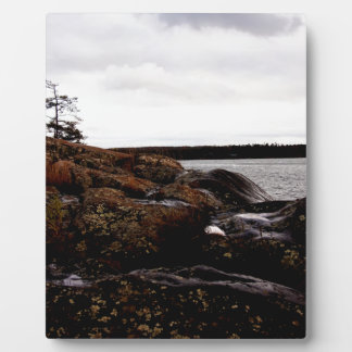 Rocky Shoreline Plaque