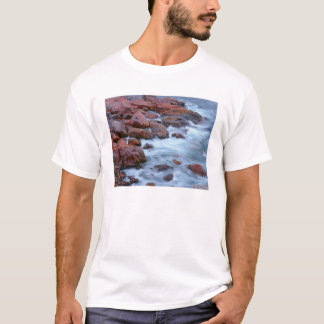 Rocky shoreline with water, Canada T-Shirt
