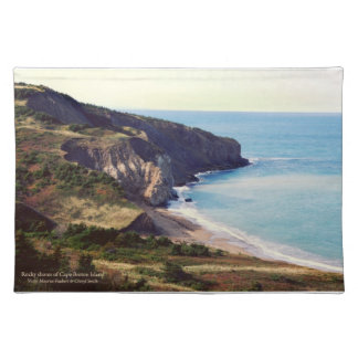 Rocky Shores of Cape Breton Place Mats