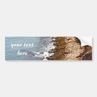 Rocky Shores of Palos Verdes Bumper Sticker