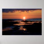 Rocky Sunset Print