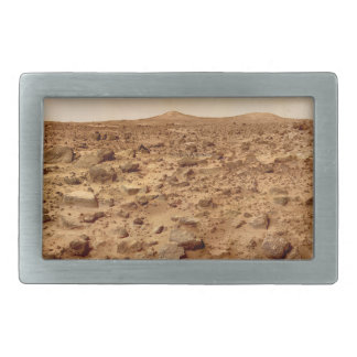 Rocky Surface of Planet Mars Belt Buckles