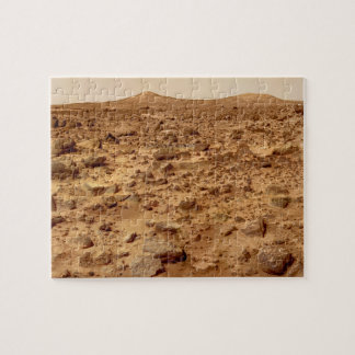 Rocky Surface of Planet Mars Jigsaw Puzzle