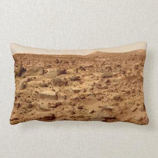 Rocky Surface of Planet Mars Lumbar Pillow