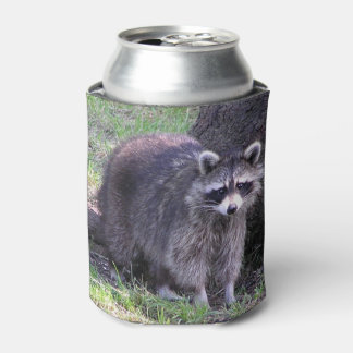 Rocky the Raccoon Can Cooler