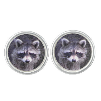 Rocky the Raccoon Cufflinks