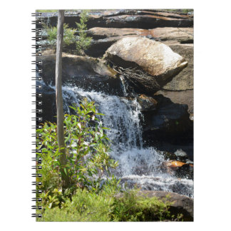 Rocky Waterfall Notebook