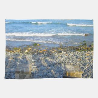 Rocky York Beach Access Hand Towel