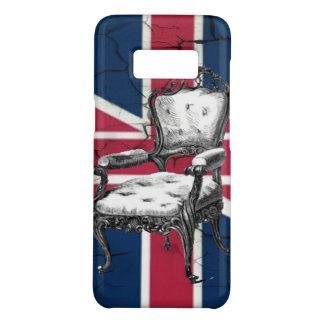 Rococo chair united kingdom union jack flag Case-Mate samsung galaxy s8 case