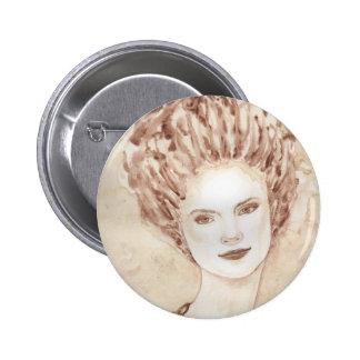 rococo girl button
