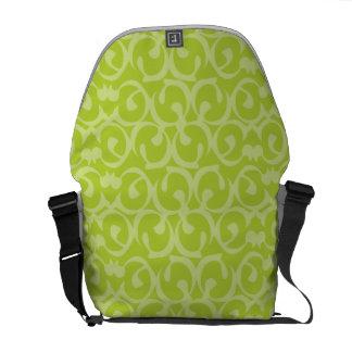 Rococo greens 2 commuter bag
