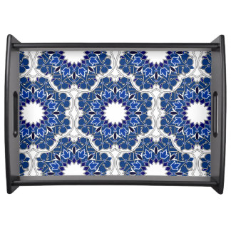 Rococo Indigo Beautiful Serving Tray