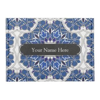 Rococo Indigo Beautiful Tyvek® Card Wallet