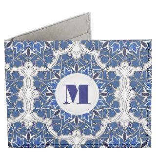 Rococo Indigo Beautiful Wallet Tyvek Wallet