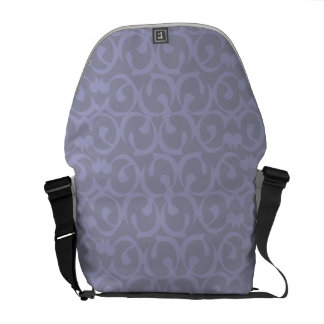Rococo lilac messenger bags