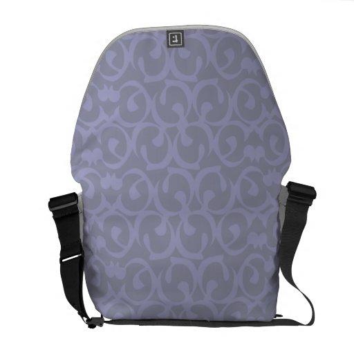 Rococo lilac messenger bags
