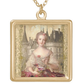 Rococo Princess Necklace_Large Custom Jewelry