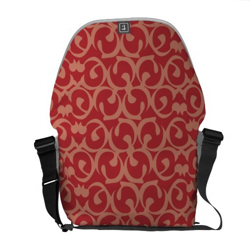 Rococo reds courier bags