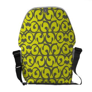 Rococo yellow commuter bag