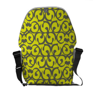 Rococo yellow messenger bags