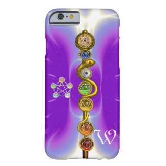 ROD OF ASCLEPIUS 7 CHAKRAS,YOGA ,SPIRITUAL ENERGY BARELY THERE iPhone 6 CASE