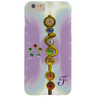 ROD OF ASCLEPIUS 7 CHAKRAS,YOGA ,SPIRITUAL ENERGY BARELY THERE iPhone 6 PLUS CASE