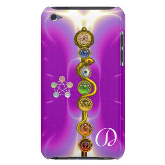 ROD OF ASCLEPIUS 7 CHAKRAS,YOGA ,SPIRITUAL ENERGY iPod TOUCH COVERS