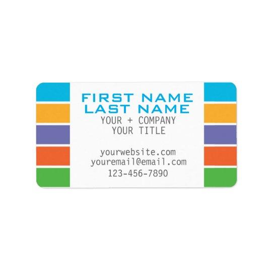 RODAN + FIELDS Inspired Custom Labels