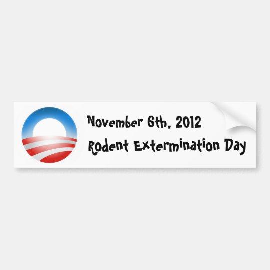 Rodent Extermination Day 2012 Bumper Sticker