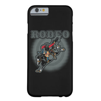 Rodeo Bareback Bronc Rider Barely There iPhone 6 Case