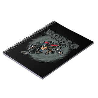 Rodeo Bareback Bronc Rider Notebooks