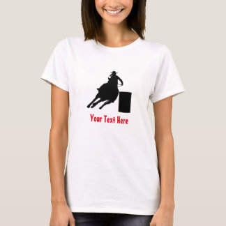 Rodeo Barrel Racing Silhouette T-Shirt