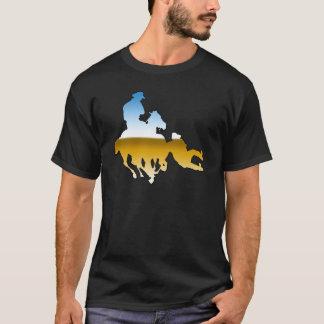 Rodeo - Bull Dogging; steer wrestling T-Shirt