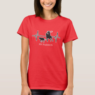 Rodeo Calf Roping - My Passion Heartbeat T-Shirt