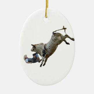 Rodeo Ceramic Ornament
