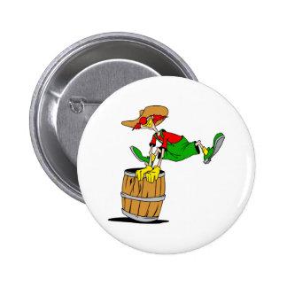 Rodeo Clown 2 Inch Round Button