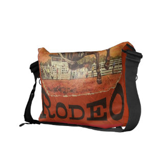 Rodeo Cowboy Courier Bag