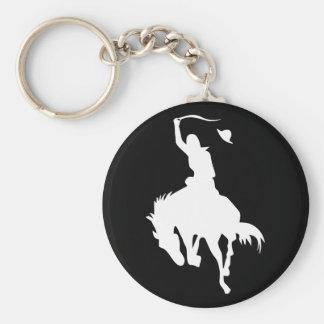 Rodeo Cowboy Keychain