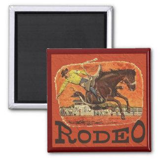 Rodeo Cowboy Magnet