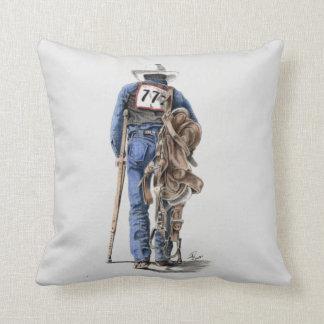 Rodeo Cowboy Throw Pillow