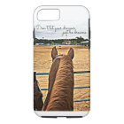 Rodeo Cowgirl Barrel Racer Tough iPhone 7 Case