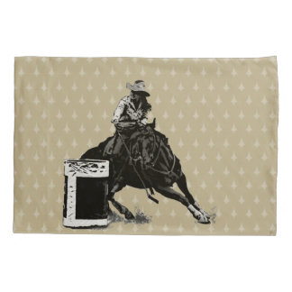 Rodeo Cowgirl Barrel Racing pillow cases