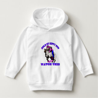 "Rodeo Cowgirl Mutton Bustin"" Sippy Watch This Hoodie"