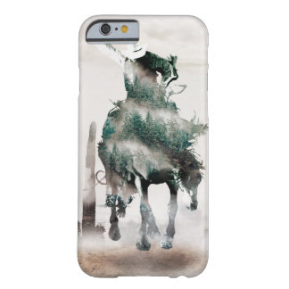 Rodeo - double exposure  - cowboy - rodeo cowboy barely there iPhone 6 case