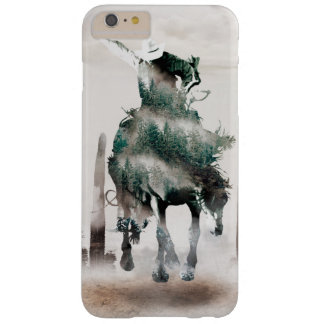 Rodeo - double exposure  - cowboy - rodeo cowboy barely there iPhone 6 plus case